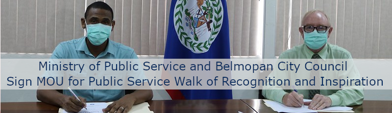 Ministry of Public Service and Belmopan City Council Sign MO ...