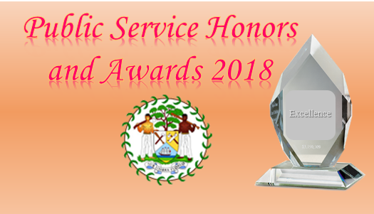 Nominations for the Belize Public Service Honors and Awards  ...
