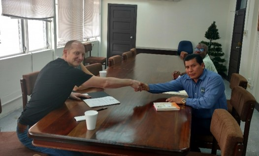 Signing of Completion Document for La Gracia Smart Off Grid  ...