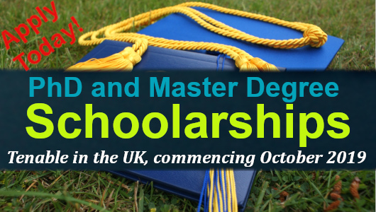Commonwealth PhD and Master Degree Scholarships Tenable in t ...