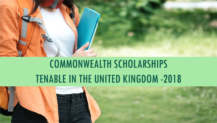 COMMONWEALTH Scholarships Tenable in the United Kingdom - 20 ...