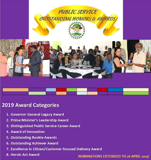 outstanding honors and awards 2019