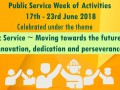 Public Service Week of Activities 2018 Image 1