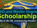 Commonwealth PhD and Master Degree Scholarships Tenable in t ... Image 1