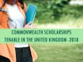 COMMONWEALTH Scholarships Tenable in the United Kingdom - 20 ... Image 1