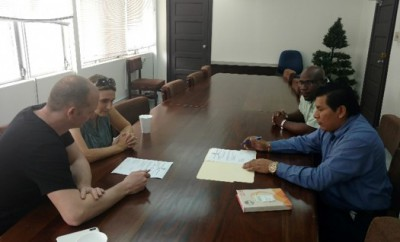 Signing of Completion Document for La Gracia Smart Off Grid  ... Image 1